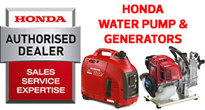 Honda Water Pumps and Generators Stockist UK Online