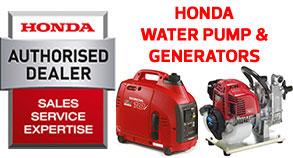 Honda Water Pumps and Generators Stockist UK Online