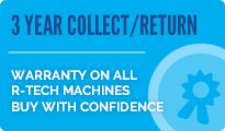3 Year collect and return R-Tech Warranty