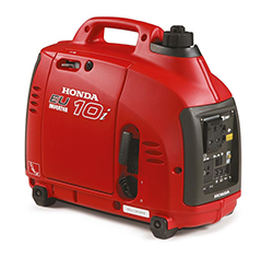 Honda leisure generators with next day UK delivery