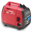 Honda Generators Leisure, Portable & Industrial