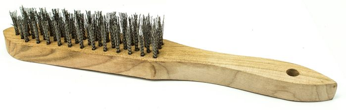 Wire Brush Stainless Steel 4 Row