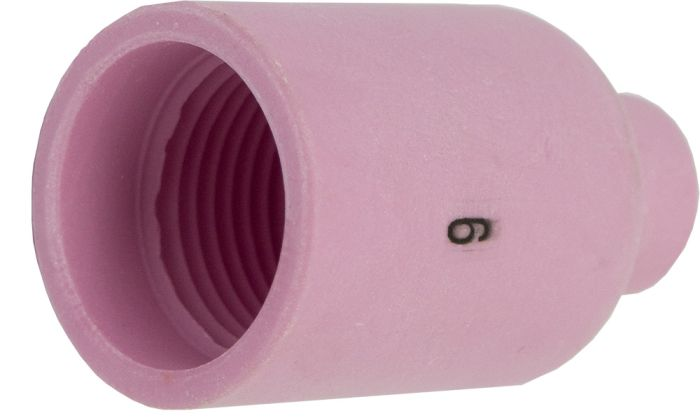 3/8 10mm Size No.6 Standard Ceramic Gas Lens  (WP17/18/26)