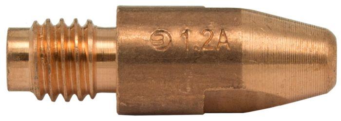 MB36/40 Aluminium Contact Tip 1.2mm (Thread 8mm)