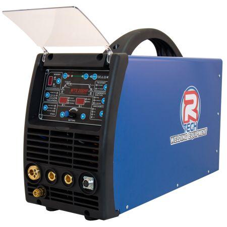 3 -in-1 MIG Welder Inverter with MMA & HF DC TIG 240V 250A