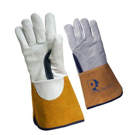 Prestige Silver Leather Tig Welding Glove