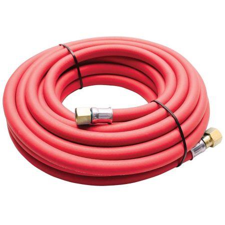 10mm ID Red Acetylene Hose - 5m / 10m