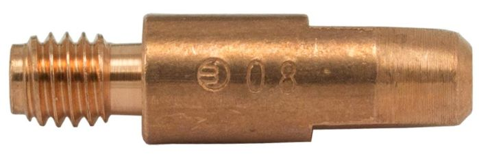 MB25 Contact Tip 0.8mm (Thread 6mm)