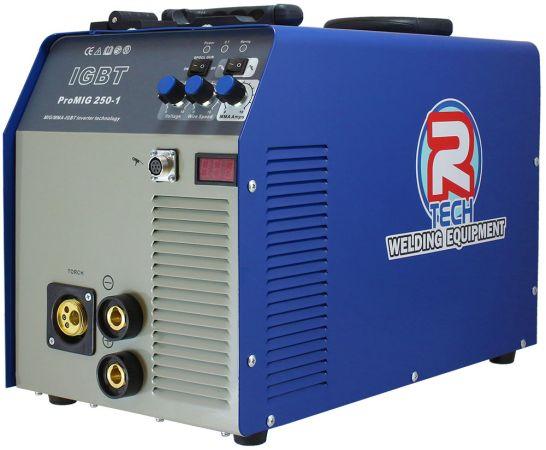 R-Tech 250 Amp Industrial Inverter Mig Welder (240v)