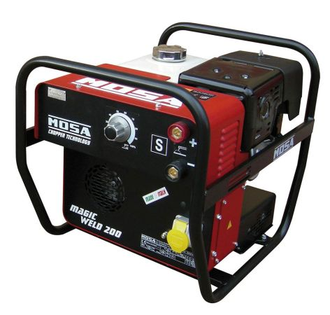 Welder Generator Mosa Magic Weld Portable 200 Amp