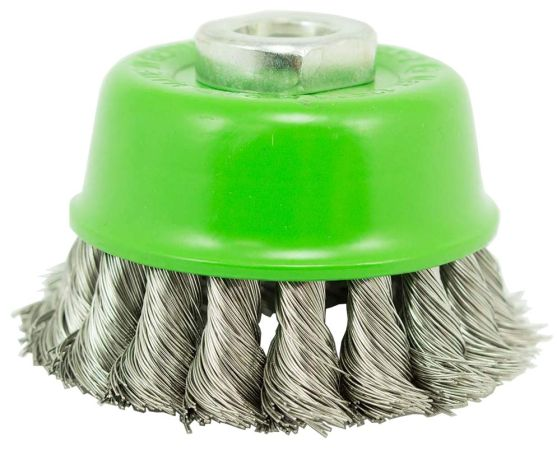 Dronco 65mm Heavy-duty wire cup brush