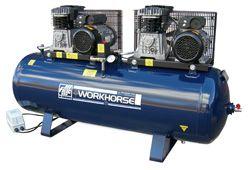Air Compressor Fiac Workhorse 2x4HP 250L 35.4CFM 240V