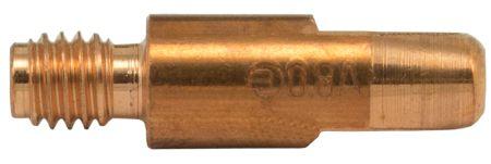 MB25 Aluminium Contact Tip 0.8mm (Thread 6mm)