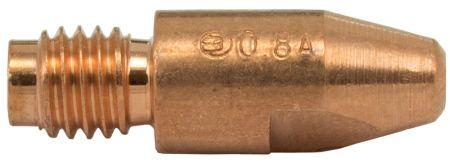 MB36/40 Aluminium Contact Tip 0.8mm (Thread 8mm)
