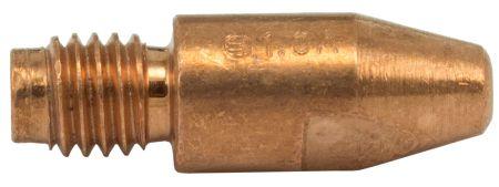 MB36/40 Aluminium Contact Tip 1.0mm (Thread 8mm)