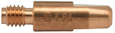 MB25 Aluminium Contact Tip 1.2mm (Thread 6mm)