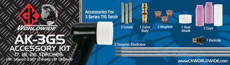 Complete Gas Saver Kit 1.6, 2.4 3.2mm for 17,18,26