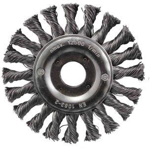 125mm Heavy-duty wire brush wheel