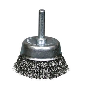 75mm Wire cup brush Dronco