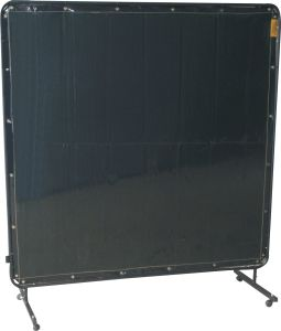 Welding screen green PVC Lo-Vis 6x6ft