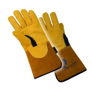Prestige Deerskin Tig Welding Glove Tan