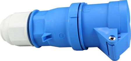240V 16A 3 Pin Blue Socket IP44 6H