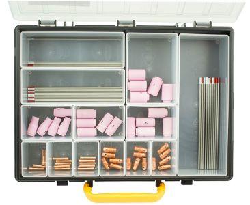 81 piece AC/DC TIG Welding Consumable Kit WP9/20