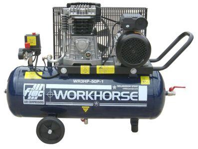 Air Compressor Fiac Workhorse 3HP 50L 13CFM 240V