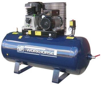Air Compressor Fiac Workhorse 4HP 200L 17.7CFM 240V
