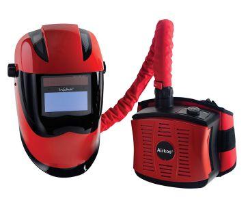 Weltek Kapio S4 Air Fed Auto Welding Helmet - RPE Fume Extractor