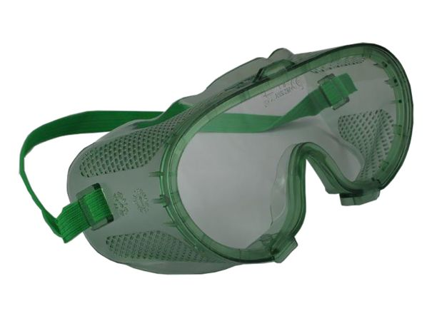 Clear Safety Goggles (Vented)