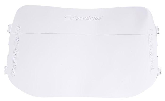 Speedglas 100 Welding Mask Outer Lens (Pkt 10)