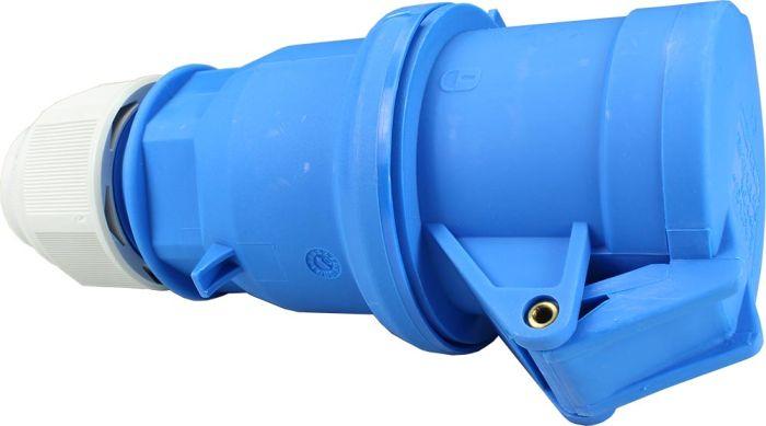 240V 32A 3 Pin Blue Socket IP44 6H