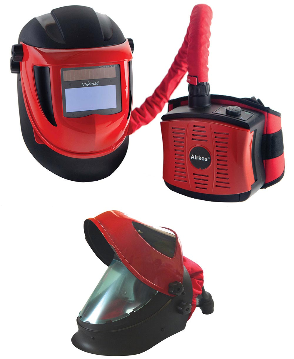 Air-Fed Welding Mask