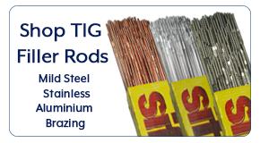 Shop TIG rods for all jobs & materials