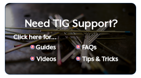 View our TIG welding guide, tips 'n tricks and more..