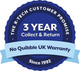 R-Tech 3 Year Welder & Cutter Warranty
