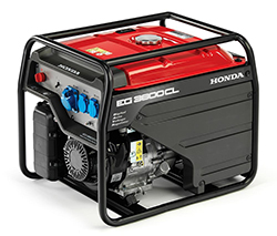 Honda industrial generators with next day UK delivery