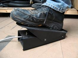 Remote foot pedal