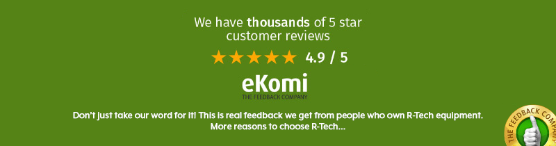 ekomi 5 star review banner with text