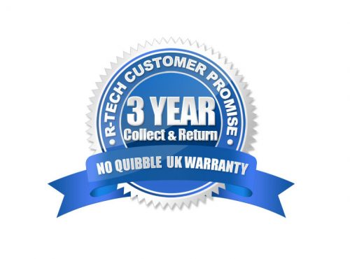 R-Tech 3 Year Collect & Return Warranty