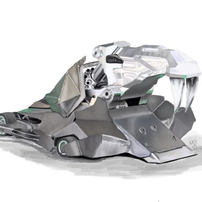 """New Combat Robot from Robo-Challenge Team """"Spectre"""" for King of Bots, China Challenge."""