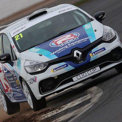 R-Tech Sponsoring Ben Davis in 2019 Clio Cup