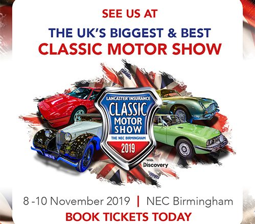Team R-Tech will be at the Classic Car Show 2019