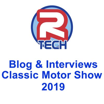 R-Tech Welding Equipment at the Classic Motor Show 2019