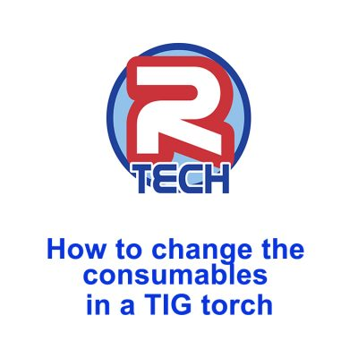 How to Change the Consumables in a TIG Torch WP17 / WP18 / WP26