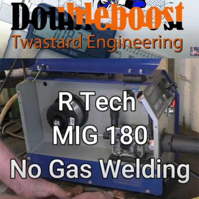 Gasless MIG Welding Video with MIG180